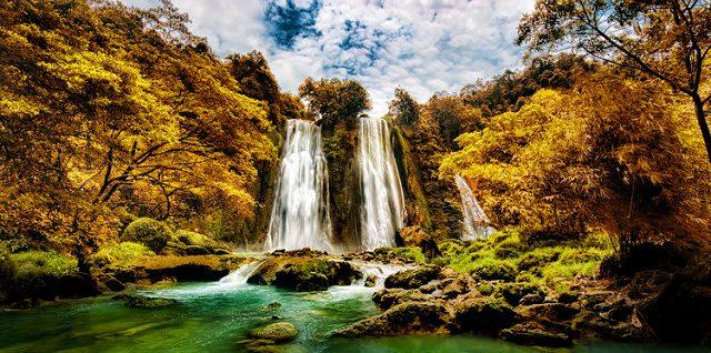 Waterfall at Java